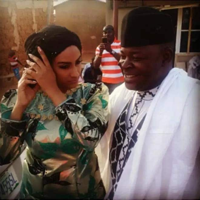 Juliet Ibrahim wedding pictures and story