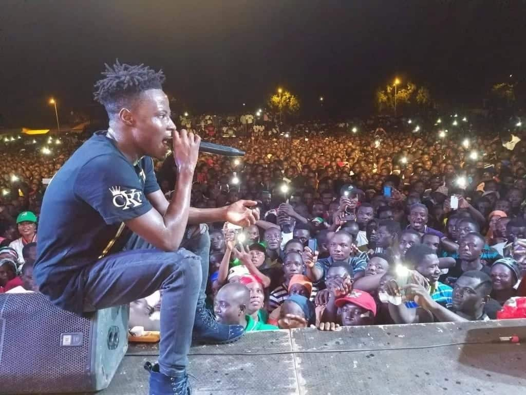 Fancy Gadam 'fights' for 'Artiste of the Year' title