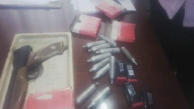 Police arrest three illegal weapons suppliers in Kasoa
