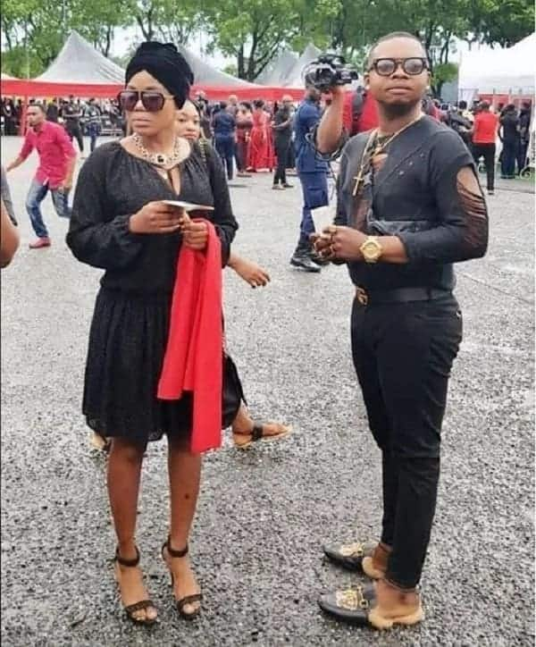 More photos of Ghanaian celebrities who attended Ebony's funeral