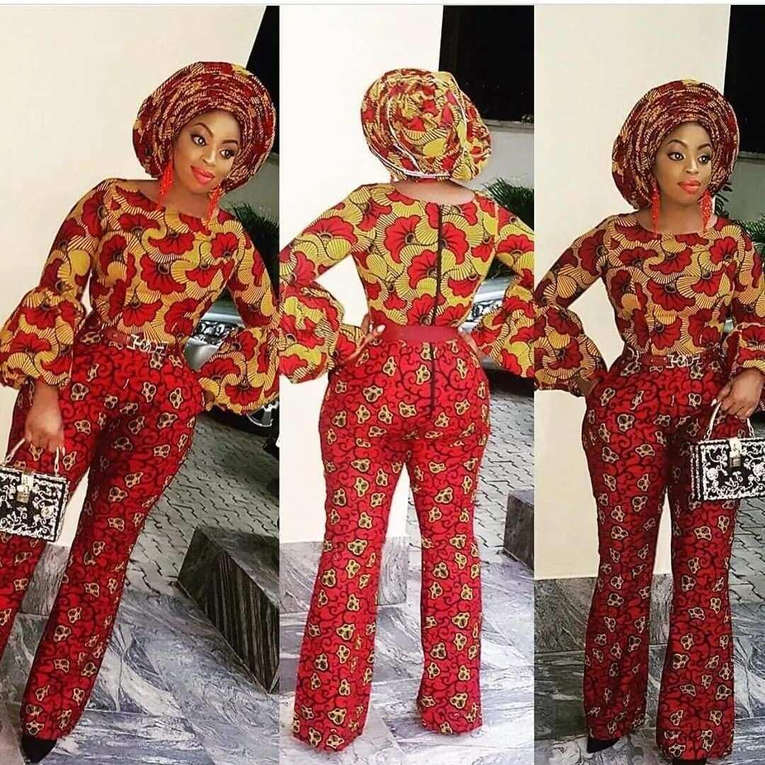 african print tops designs