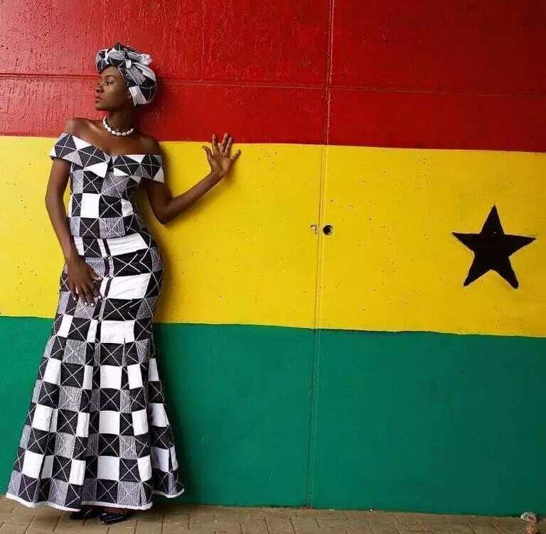 latest kaba styles ghana