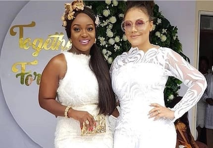 Jackie Appiah, Nadia Buari and other celebs who slayed the fashion game at the Dumelo wedding