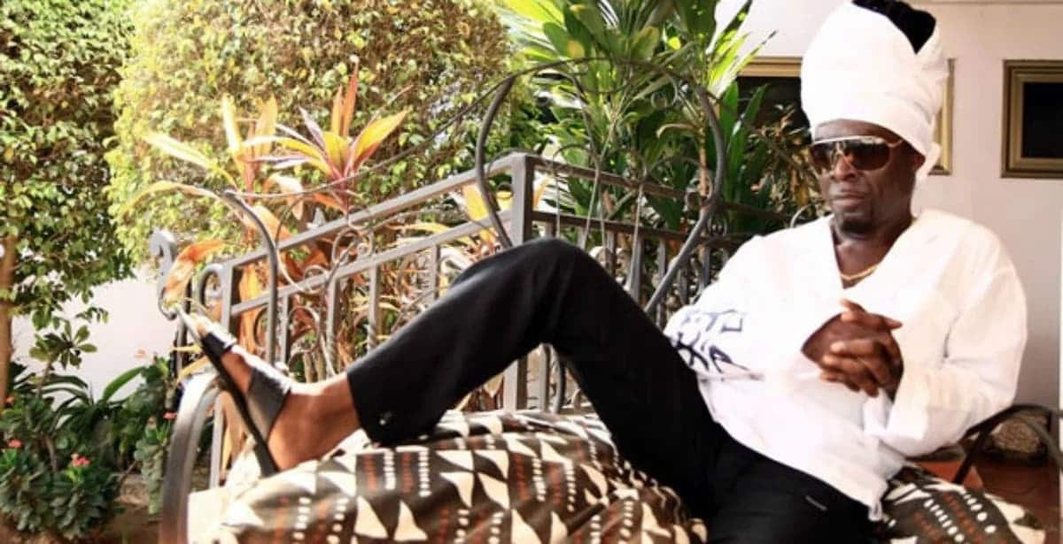 Kojo Antwi in relaxed pose