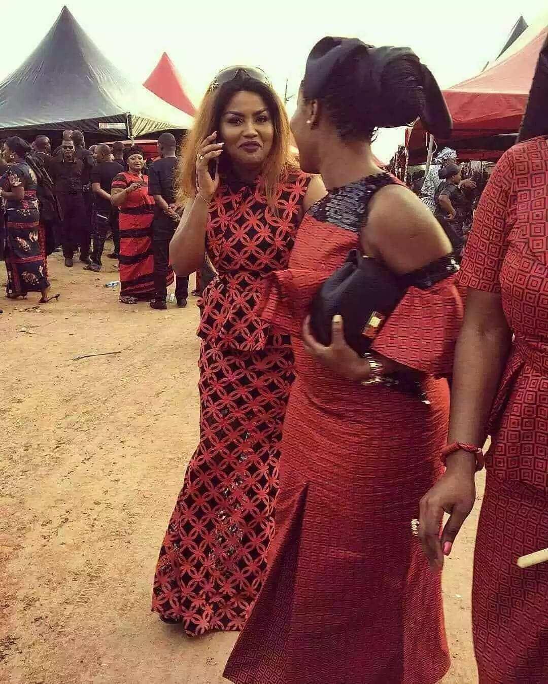 Ghana kaba styles for funeral