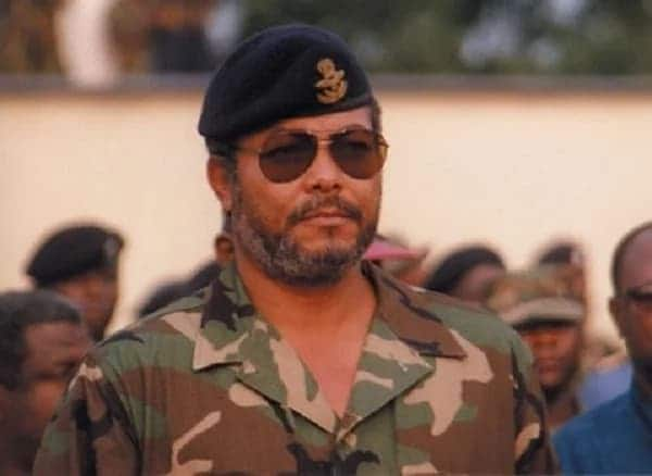 A young J.J Rawlings