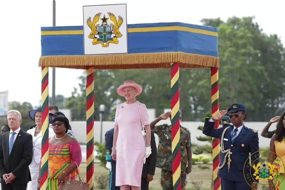 All the diplomacy and presidential presence of Nana Addo, Queen of Denmark we have in photos
