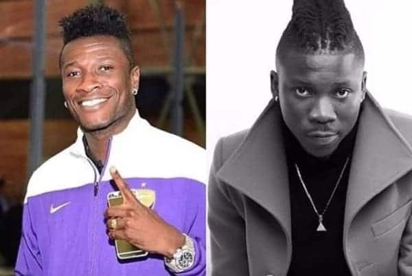 Asamoah Gyan denies false Stonebwoy 'bail out' report