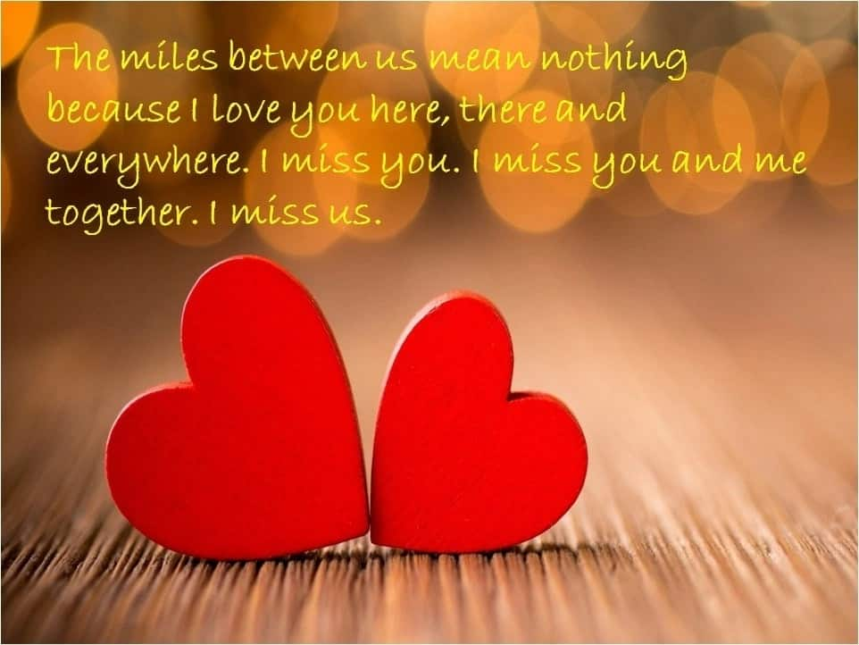 message for husband far away, i miss you messages for him, cute long distance quotes
