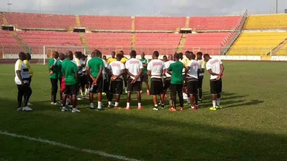 Ghana drop to 52nd in latest FIFA ranking