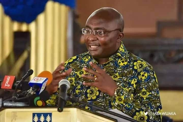 Social media users react differently to news about Bawumia's visit to UK for medical attention