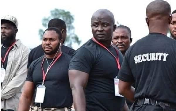 Invisible, Delta Forces guard NPP national delegate's conference