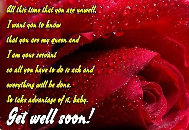 speedy recovery messages, get better soon message, feel good messages