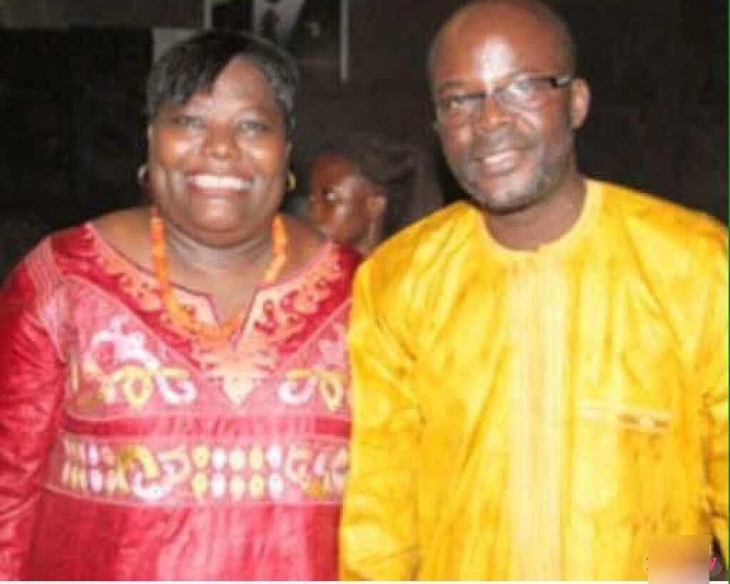 Photos of Tony Lithur and Nana Oye in happy times