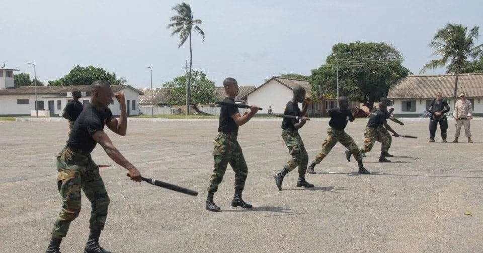 Ghana armed forces recruitment process