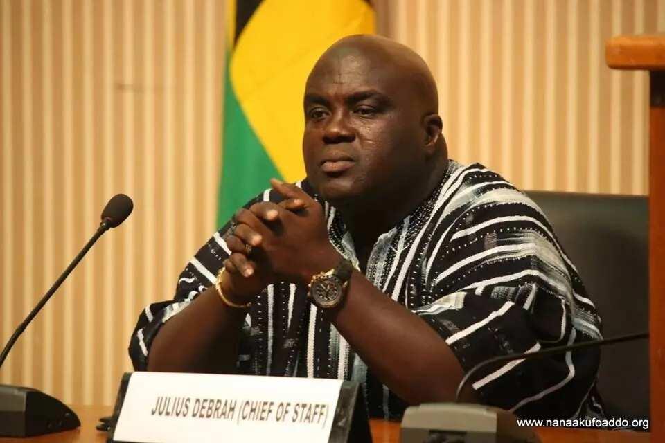 NDC's Julius Debrah dumps Mahama for Alban Bagbin