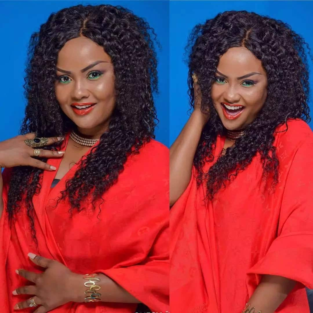 Is this Nana Ama Mcbrown's new look?