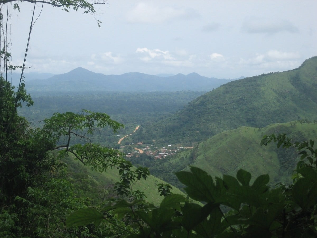 mountains of Ghana
