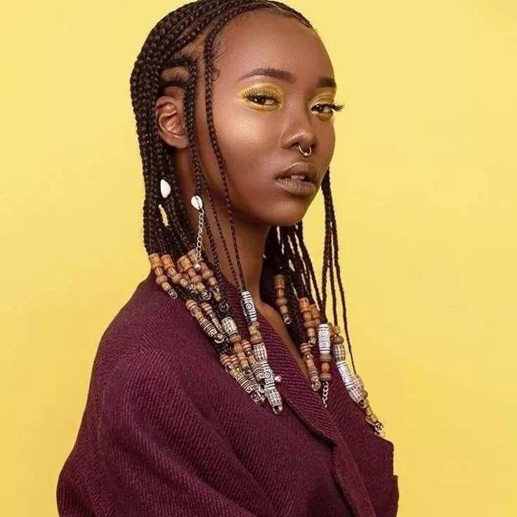 latest nigerian braids hairstyles, Nigerian braids hairstyles, pictures of nigerian braids hairstyles