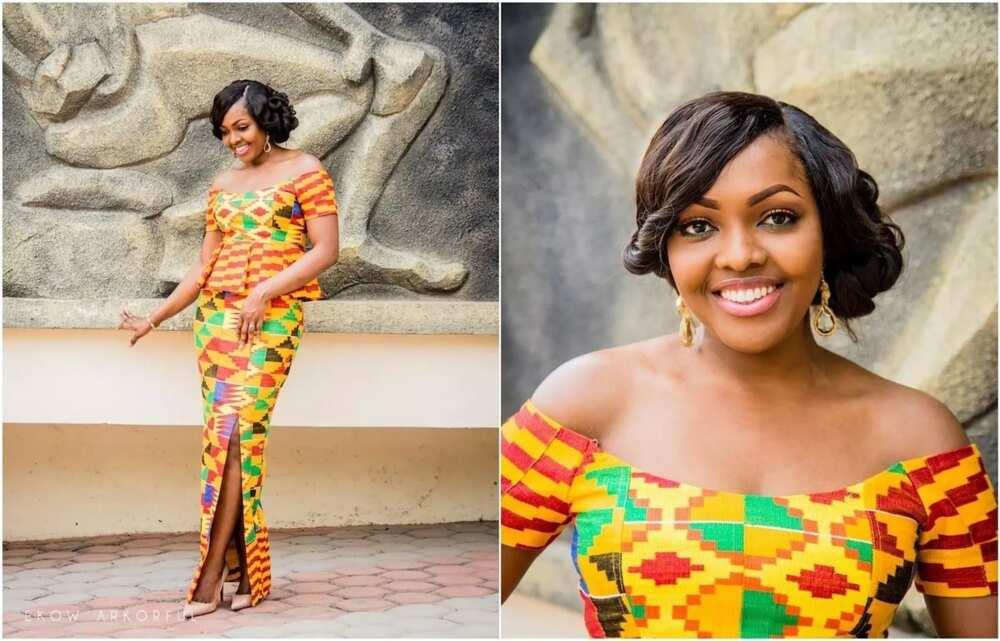 50 best kente styles for graduation in Ghana