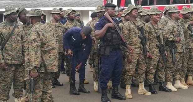 illegal miners provoking Operation Vanguard task force