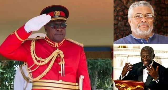 Ghanaian presidents and the hilarious nicknames given to them