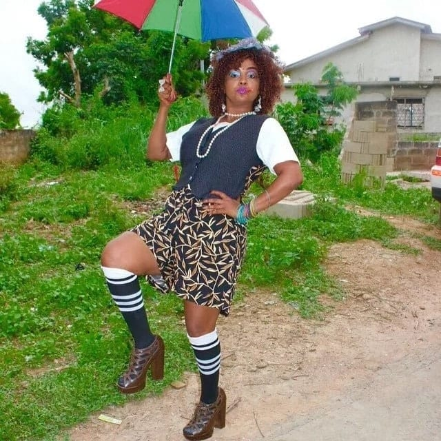 Fun photos that will show you the other side of Nana Ama McBrown