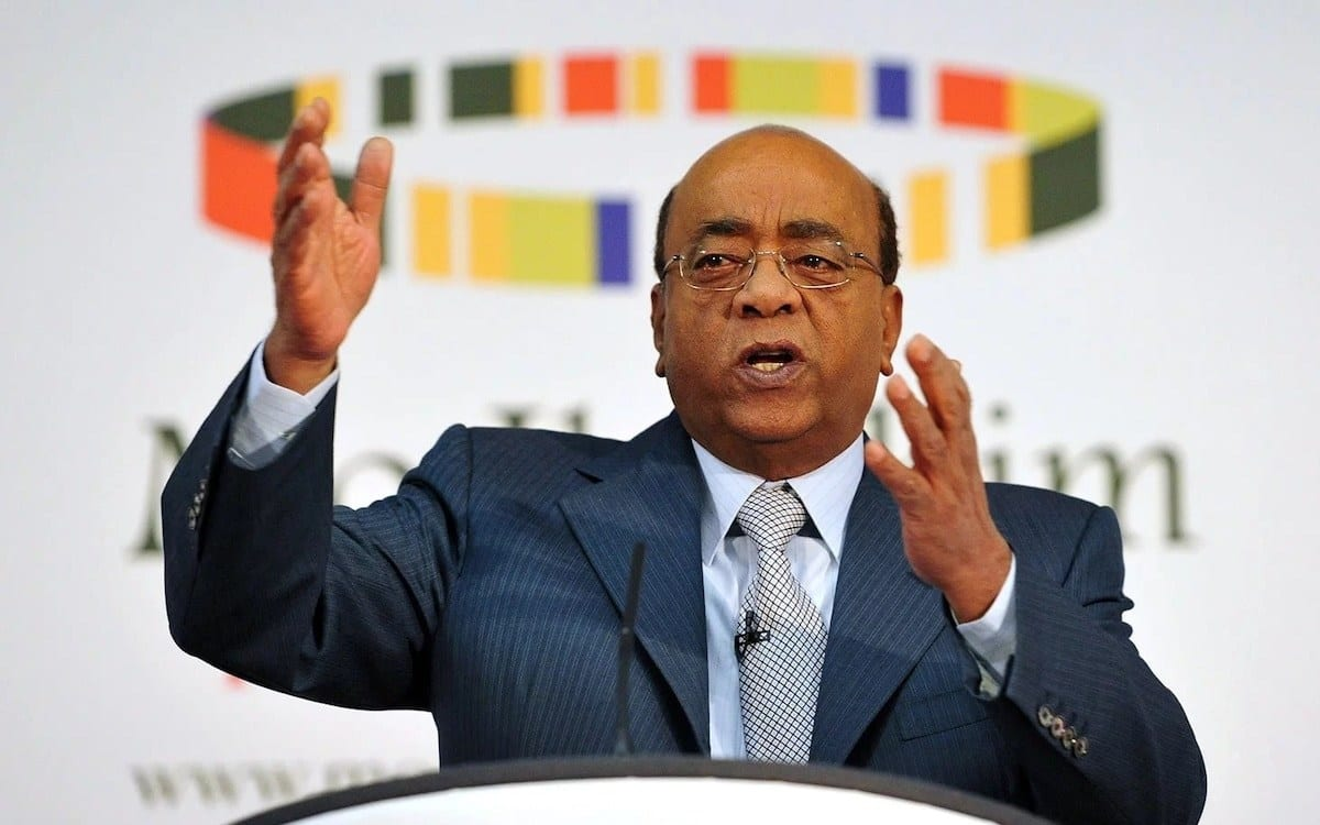 """Mo Ibrahim criticizes African youths for choosing """"old"""" presidents"""