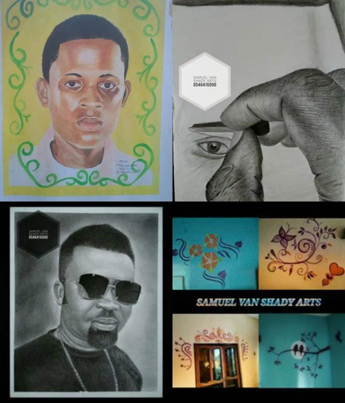 Samuel Ameleto is a talented self taught artist