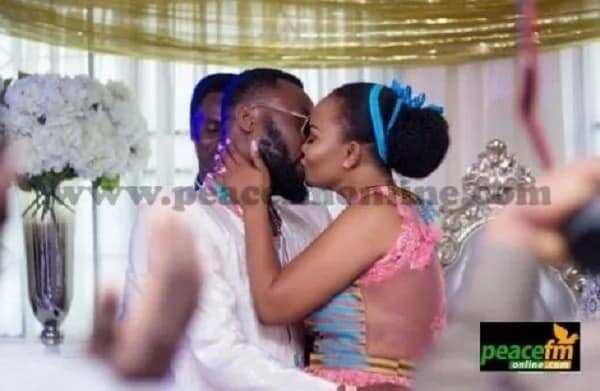 Nana Ama McBrown's wedding photos finally out!