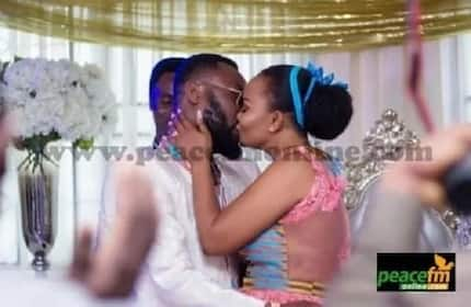 Nana Ama McBrown's wedding photos are finally out and we have them!