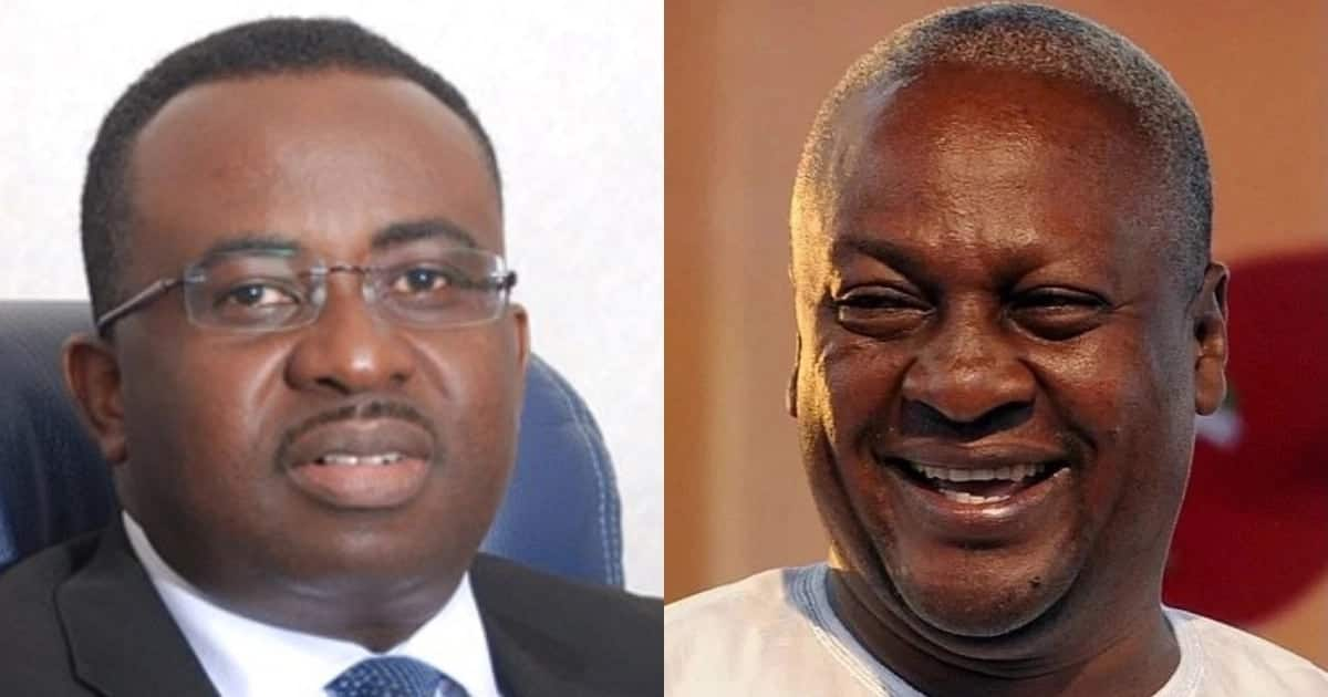 Mahama to reportedly considering Dr Johnson Asiama as 2020 running mate