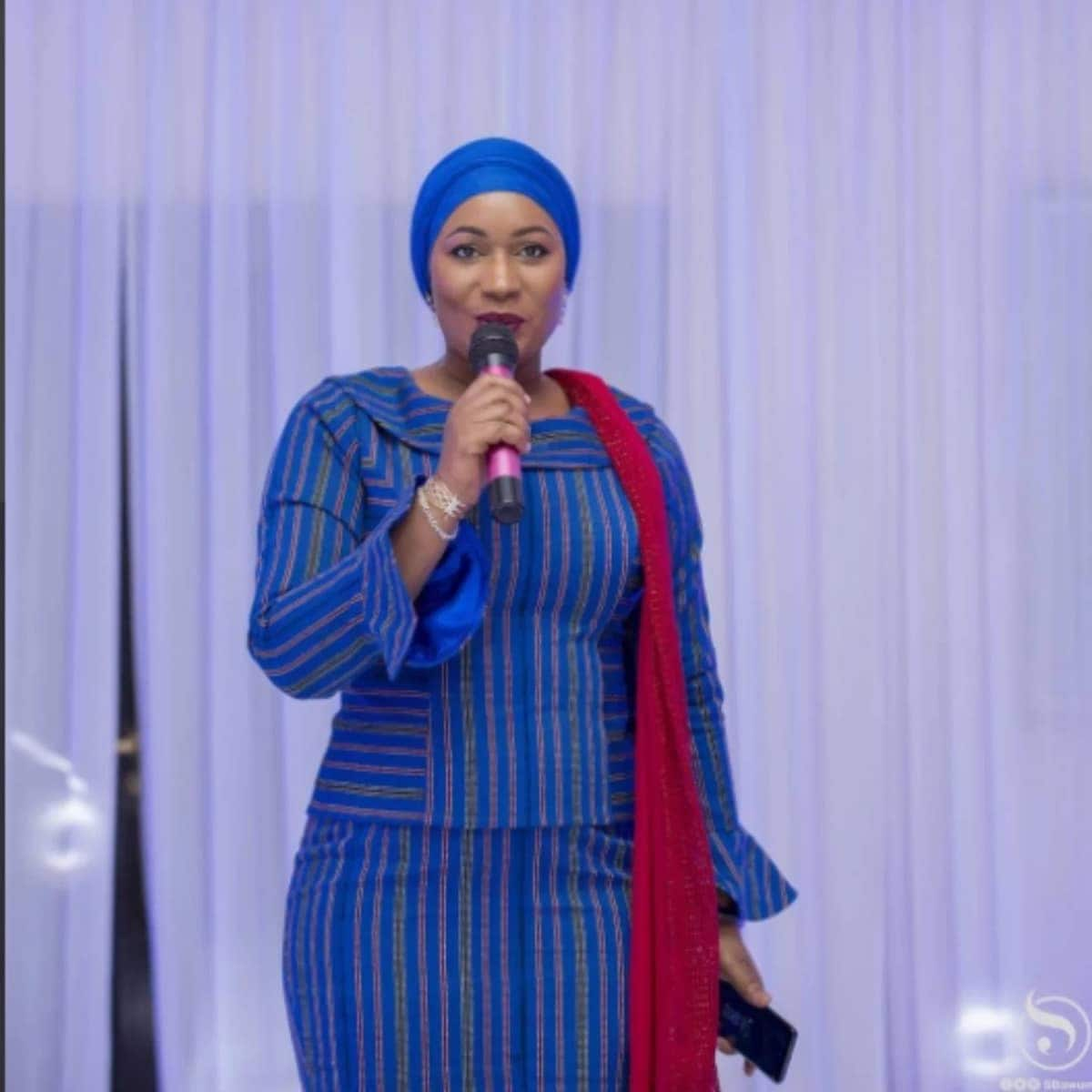 Samira Bawumia 'slays' in African-inspired clothing as she is conferred with UN top position