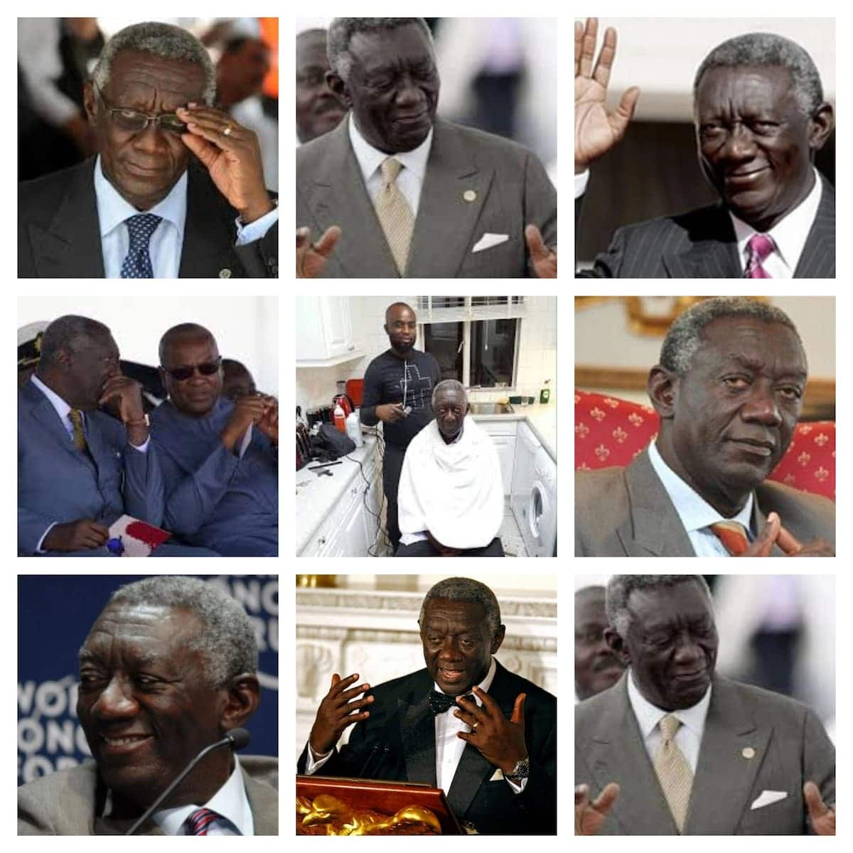 pictures of john agyekum kufuor where is john agyekum kufuor john agyekum kufuor wife