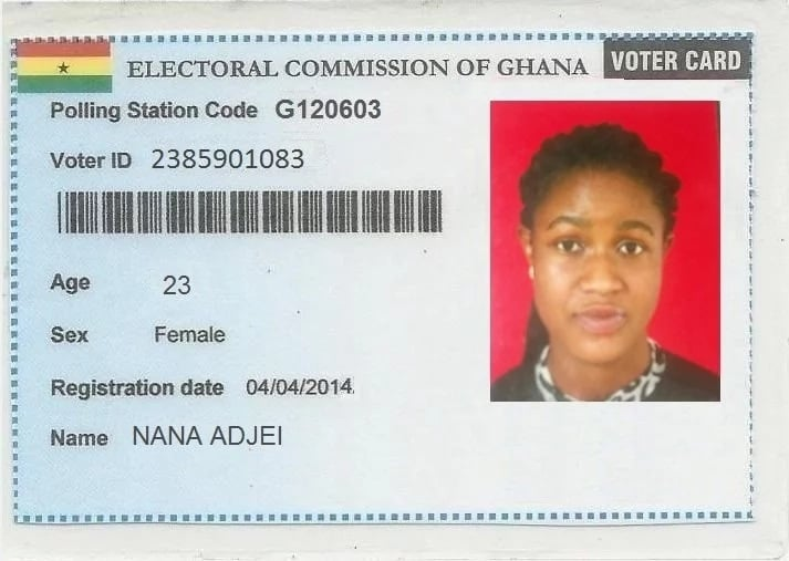 Ghana voters ID card: registration, verification and replacement ...