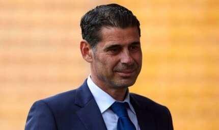 Spain name Fernando Hierro as coach after sacking Lopetegui