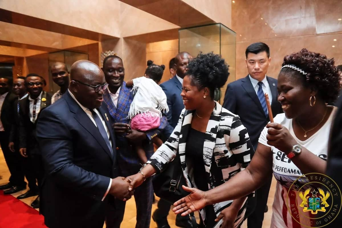 Photos that prove Akufo-Addo is having the time of his life as Ghana's president