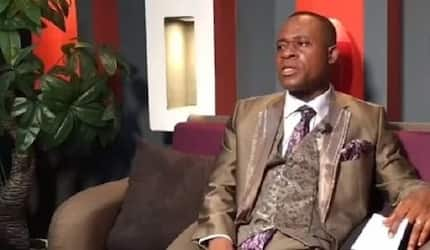 Meet the Ghanaian Pastor who has already prepared his tomb and that of his wife in his house (Video)