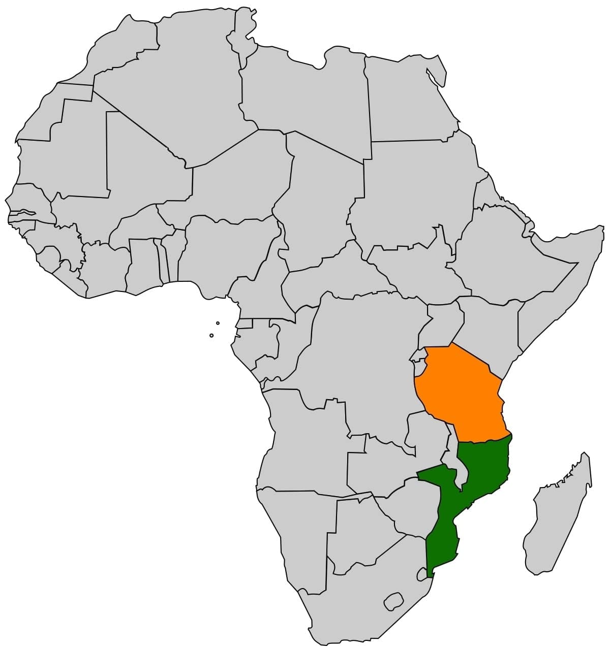 countries in east africa east african countries list is somalia in east africa country bordering tanzania and rwanda
