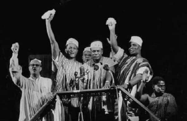 Dr. Kwame Nkrumah, others dance to Shatta Wale's 'Freedom' in latest hilarious video