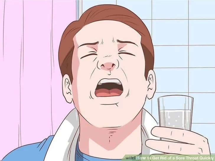 How to treat sore throat fast at home