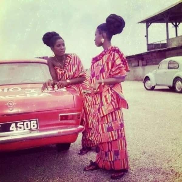 African old school dressing