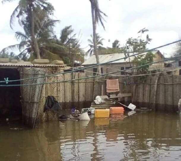 Wild sea waves swallow homes in Volta Region