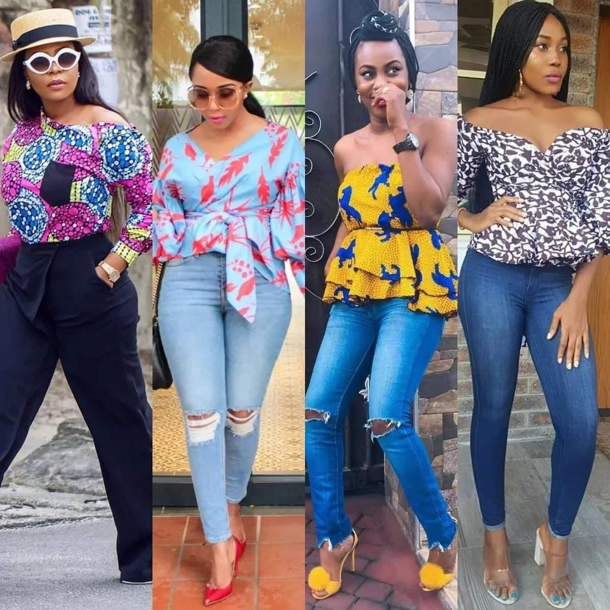 58f37708fc 10+ Most Beautiful Ankara Styles for Teenagers Girls 2019 ▷ YEN.COM.GH