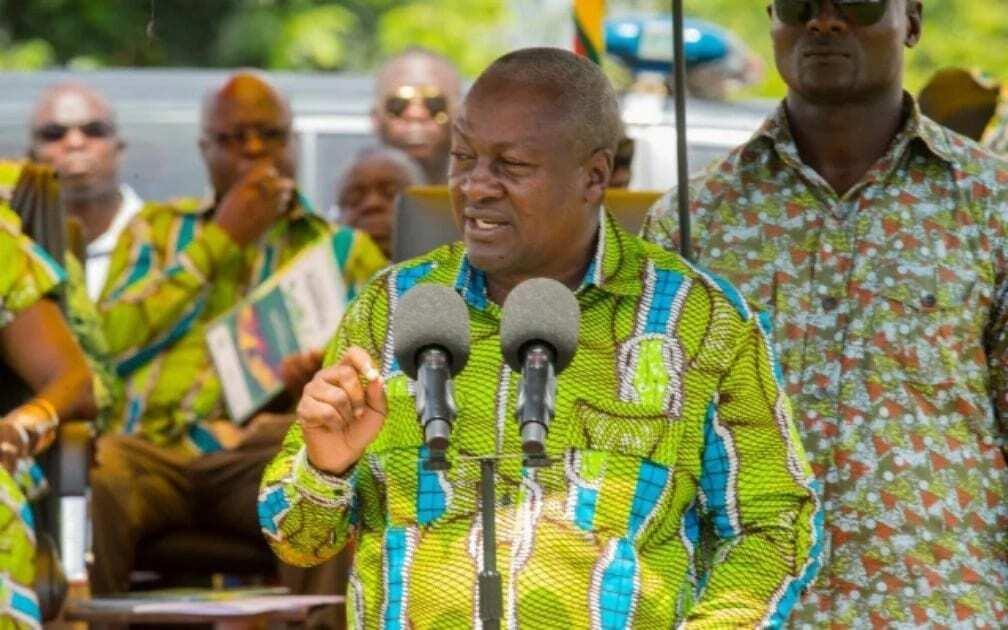 Mahama wishes Ghanaian farmers happy Farmers' Day