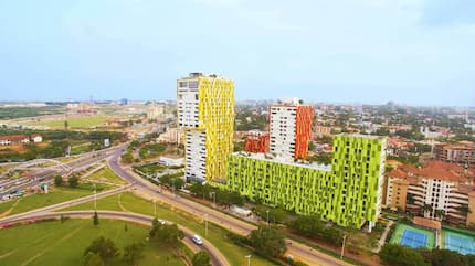 Villagio, Ecobank Towers and the rest of Ghana's tallest buildings