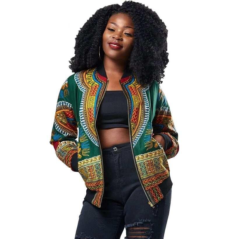african print ladies jackets