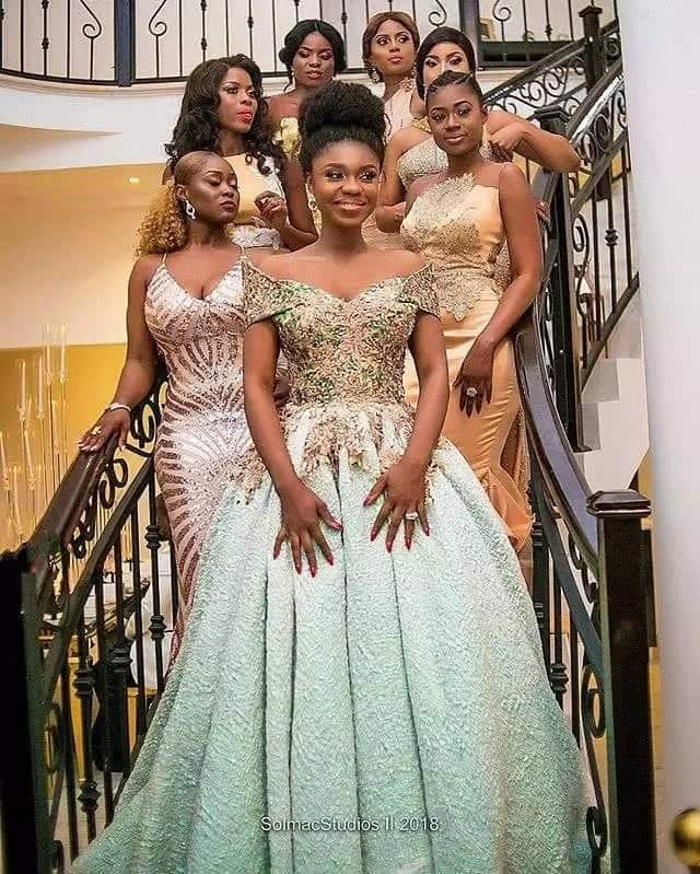 What Becca wore for her wedding to Daniel Tobi Sanni