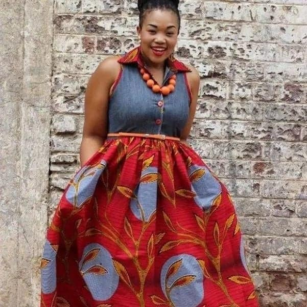 8d949a5f6 New and trendy African print skirt and top styles - GhanaSummary News