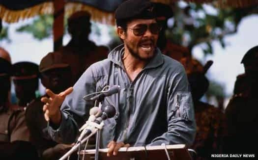 5 photos about Ghana's former President Rawlings